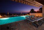 Dusk on the Pool Terrace