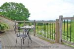Thumbnail Image - The upper deck with outside dining table
