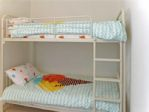 Comfy, modern quality bunks for the little ones.