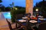 Dine Alfresco at Night