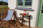 Enjoy a few drinks on the veranda before bedtime...