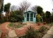 The garden summerhouse - perfect for sunny days!
