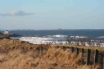 Local view to Lindisfarne in the distance