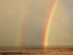 The Beach Hut - Rainbow on the beach