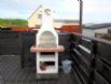 The Beach Hut - European BBQ on decking