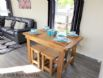 The Beach Hut - Dining table set for a meal