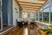 Spacious light and peaceful conservatory