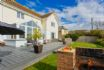 Ideal outdoor space with purpose built BBQ
