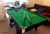 Games room Snooker table