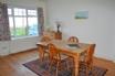 Spacious dining room with sea views