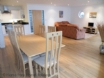 Open plan lounge and dining room