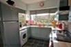 Our bright kitchen continues the coastal theme