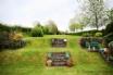 Large tiered garden