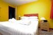 Cheerful, double bedroom