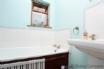 Enjoy a soak in the family bathroom
