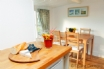 Sociable kitchen and dining space