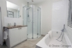 High spec shower with touch-sensitive shower control