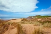 The view over Croyde's unspoilt dunes