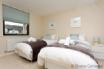 Elegant twin bedroom