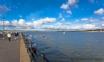 Enjoy views over the estuary from Appledore quay