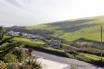Rural Devon from balcony