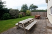 Plenty of outside seating and dining space