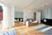 Light open plan living area