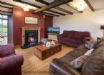 The Lounge with open wood fire