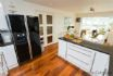 Open plan well fitted kitchen in the heart of the home