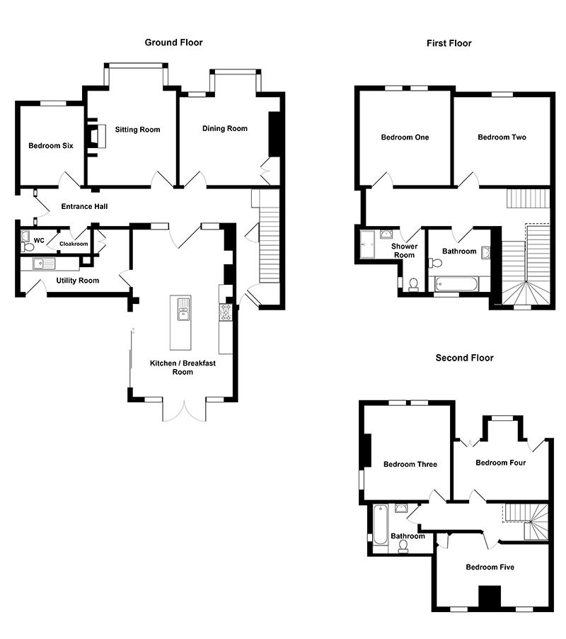 Belstead House Floorplan