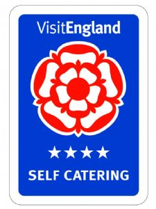 Visit England 4-Star Self-Catering Logo