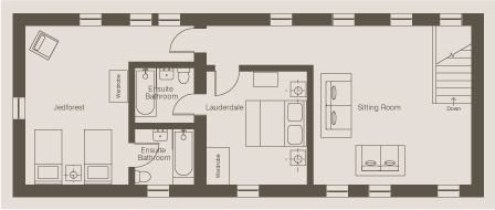 Annexe First Floor - Borders