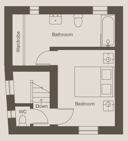 Lilac House First Floor Plan