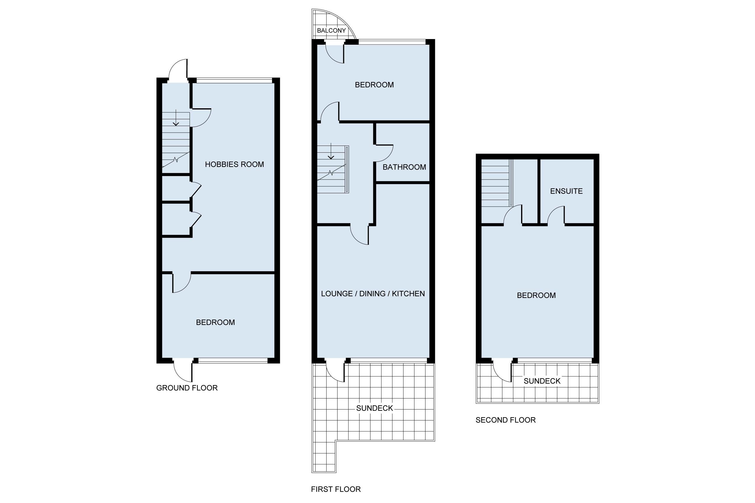 Floor Plan for La Rye Vita