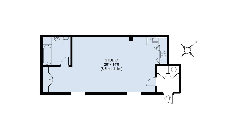 Floor plan - Daisy