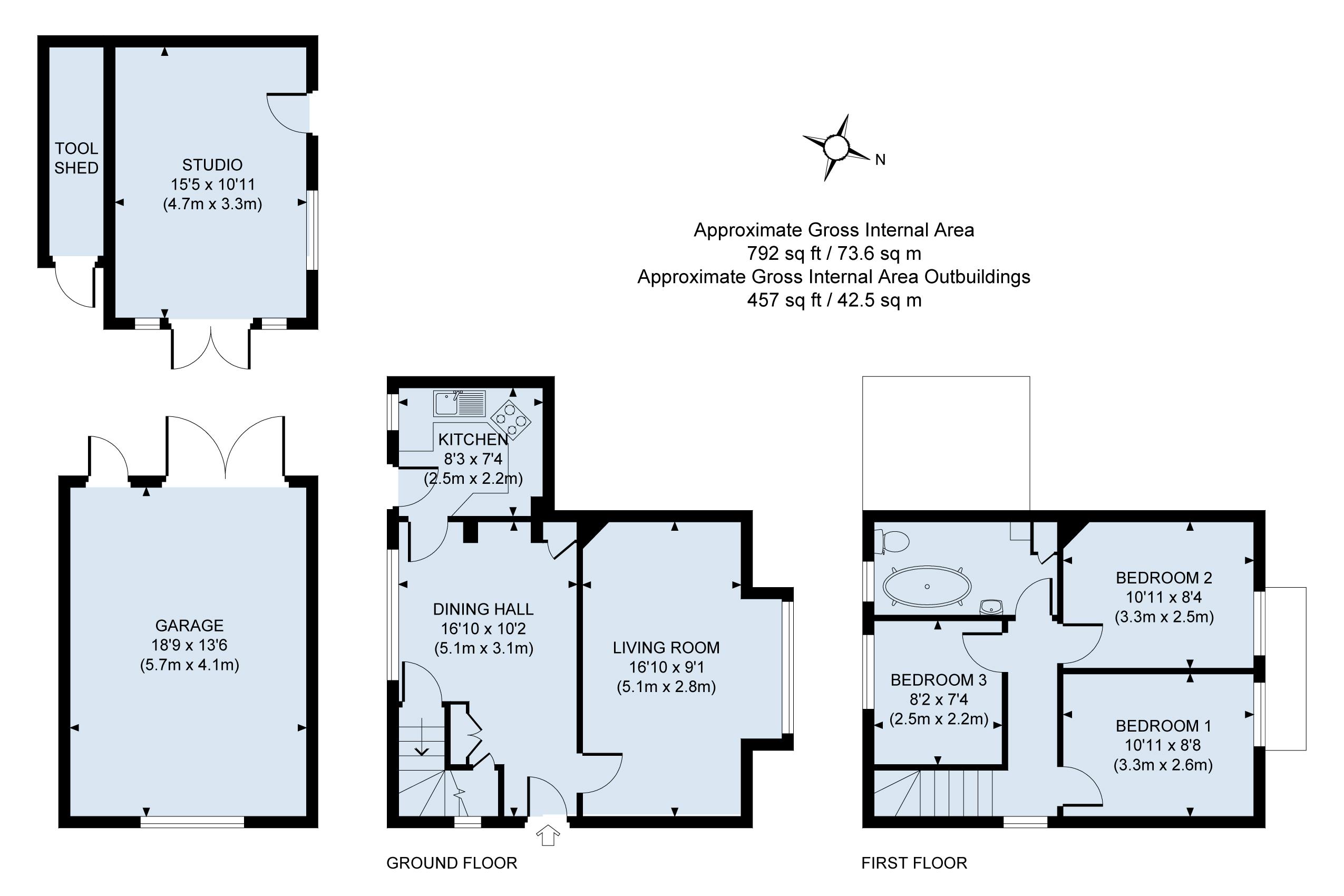 Floor plan - Sheriff