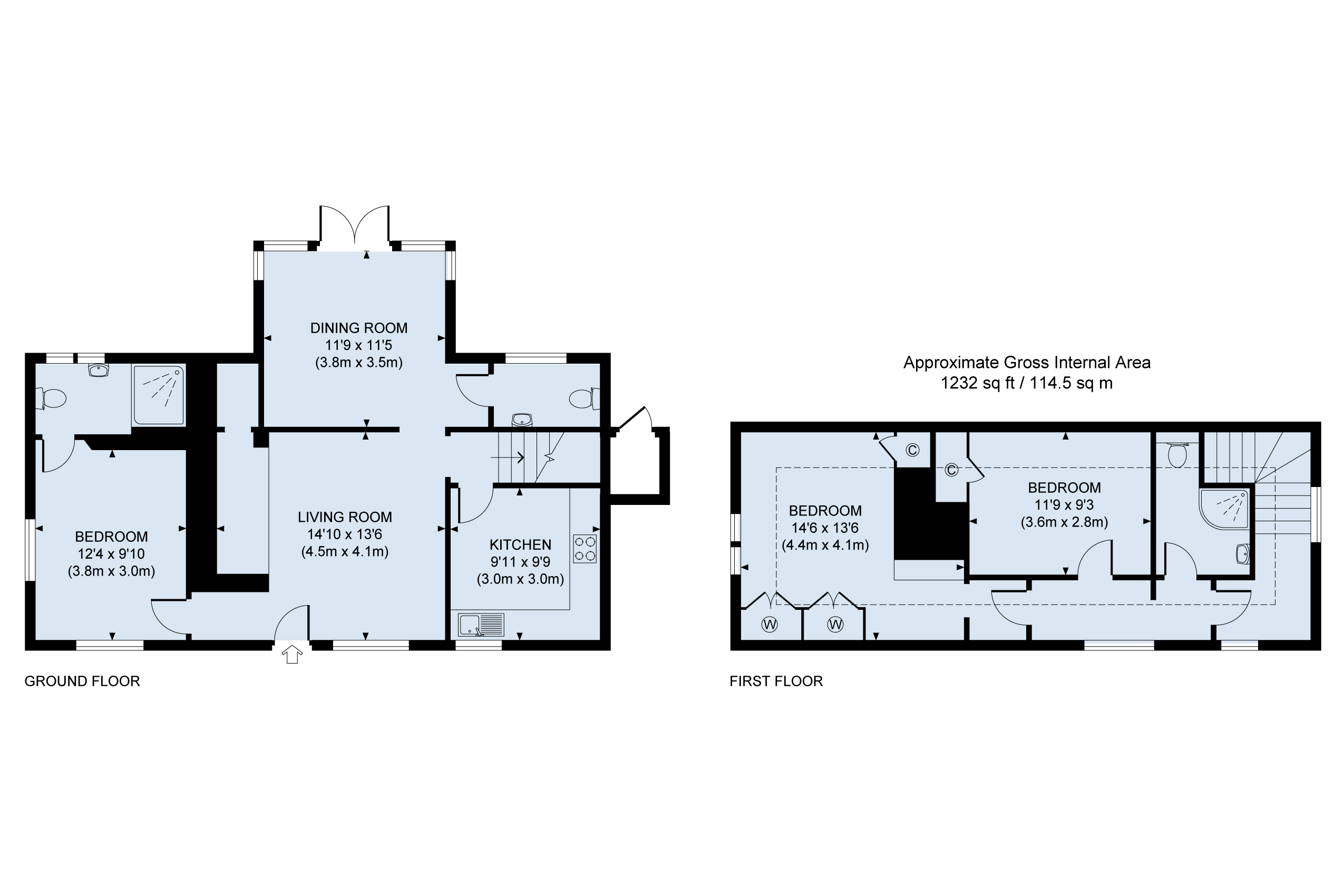 Floor plan twyford