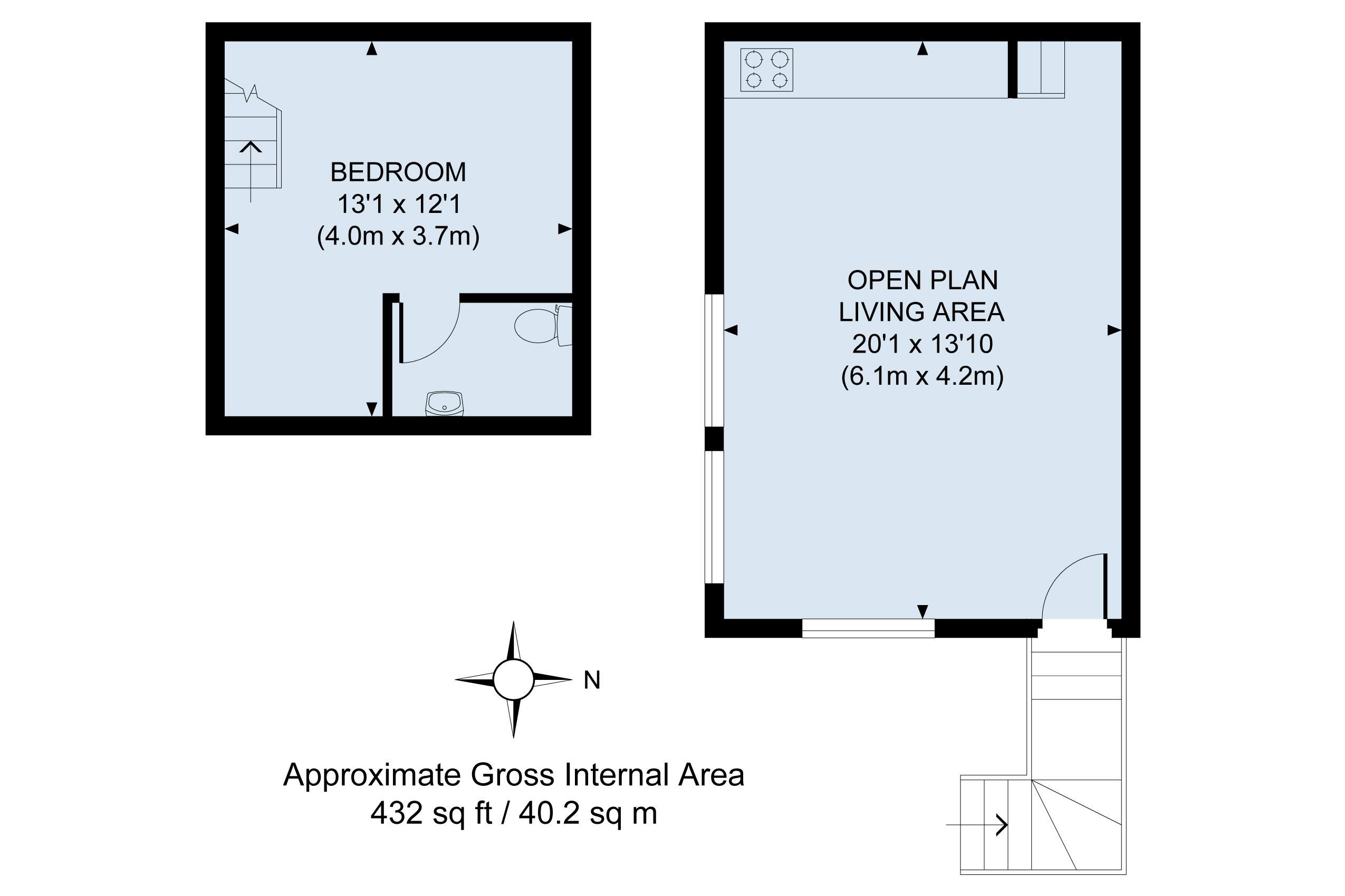Floor plan - Studio22