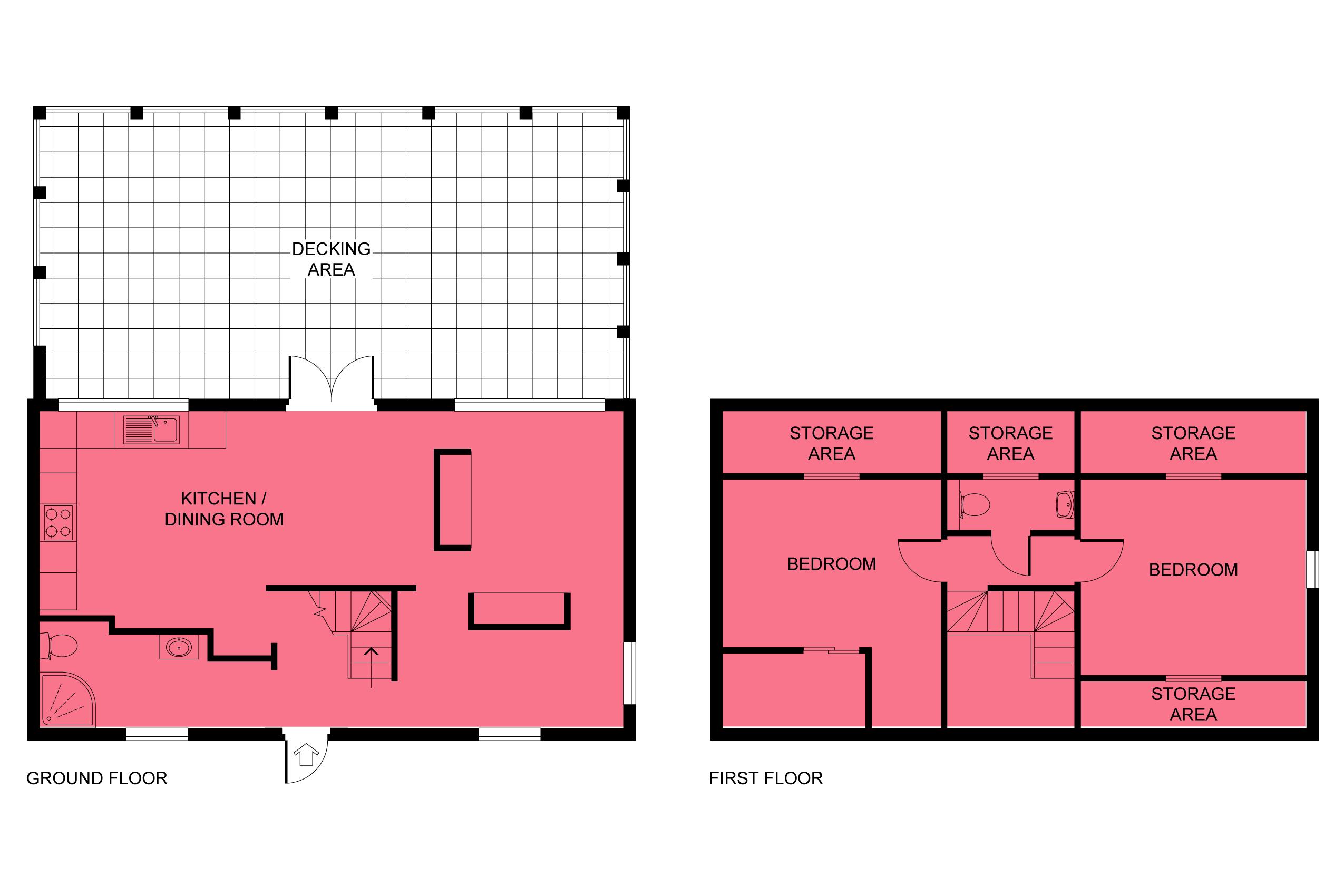 Floor plan - Sentinel