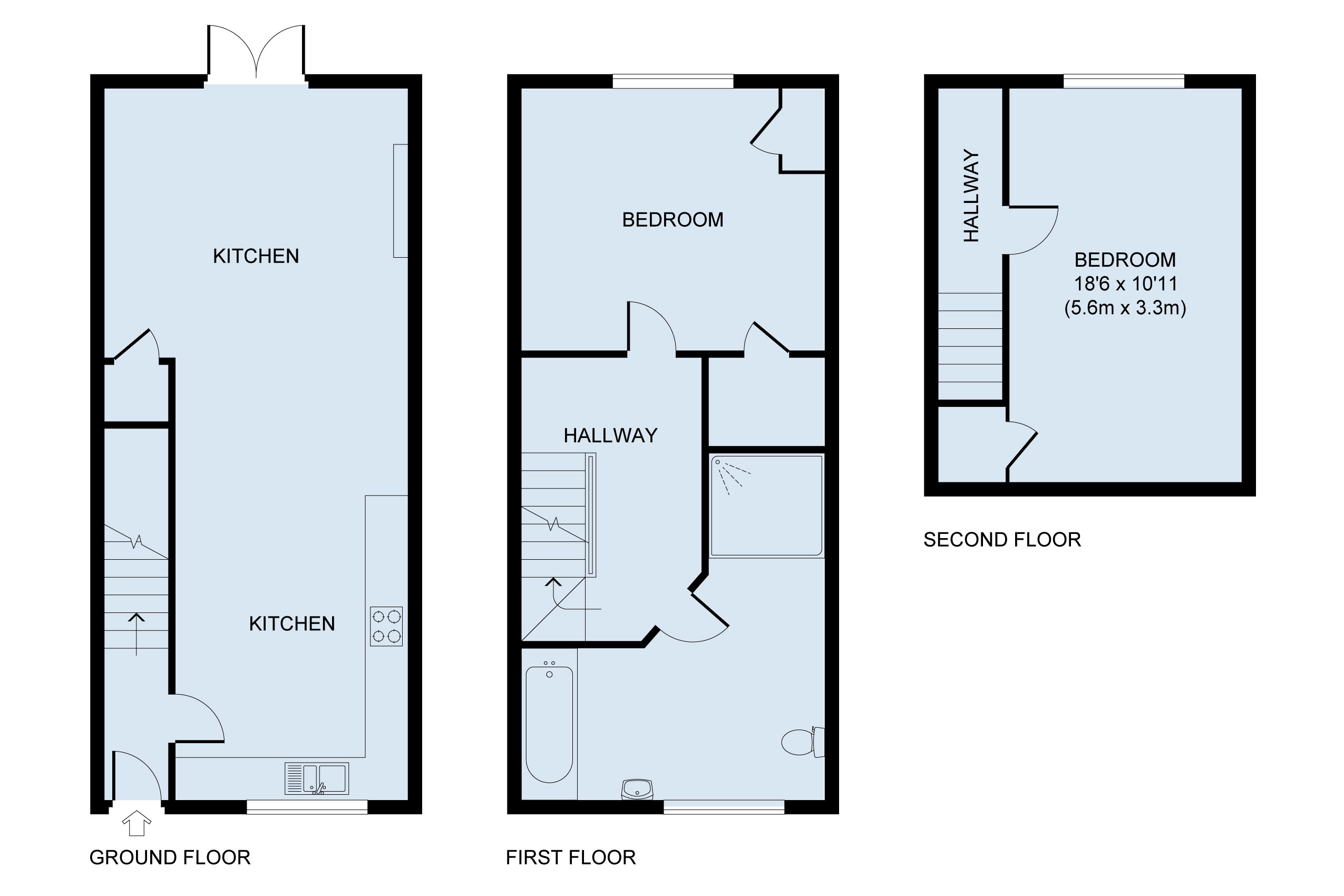 floor plan for The Salts