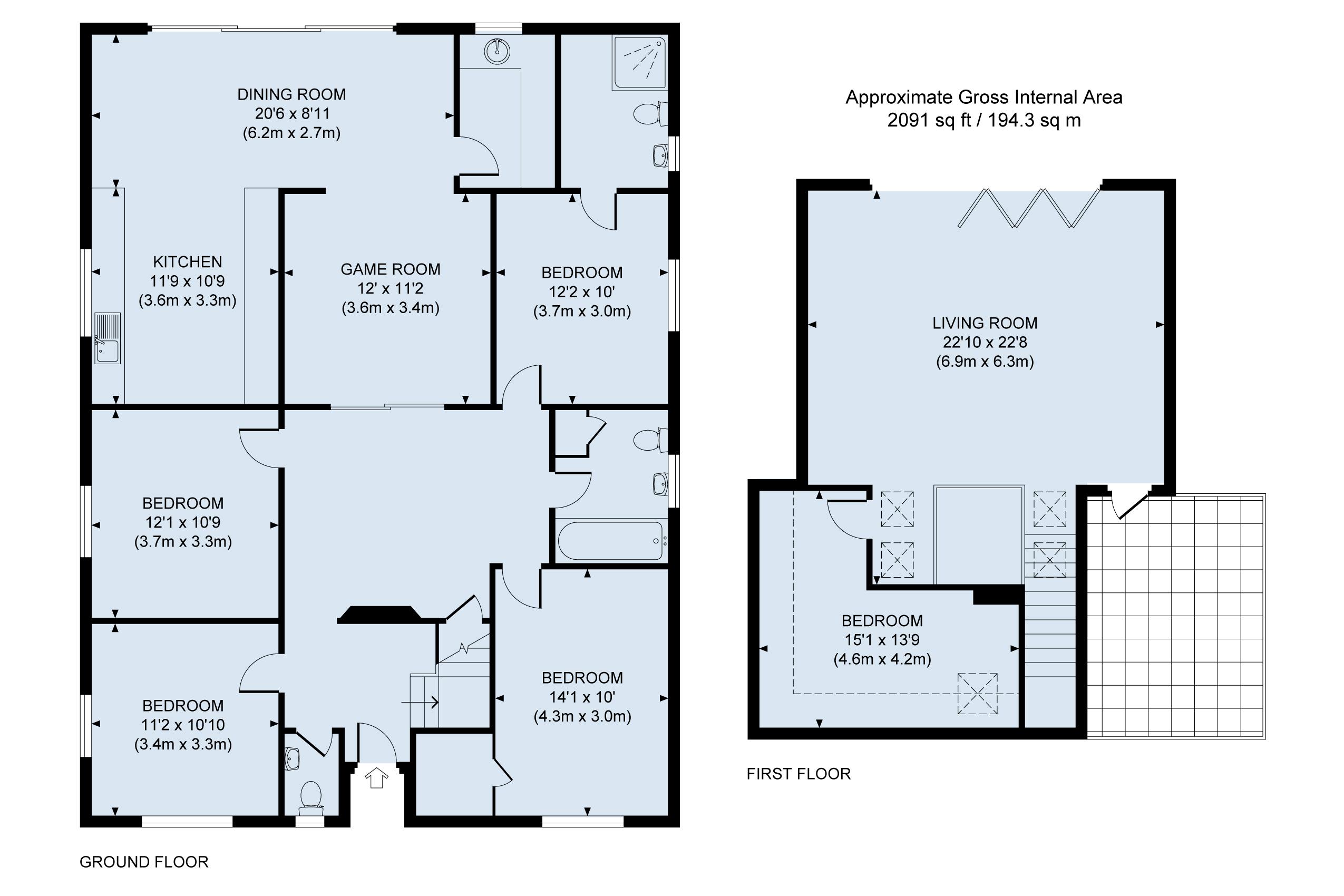 Floor Plan Marine House