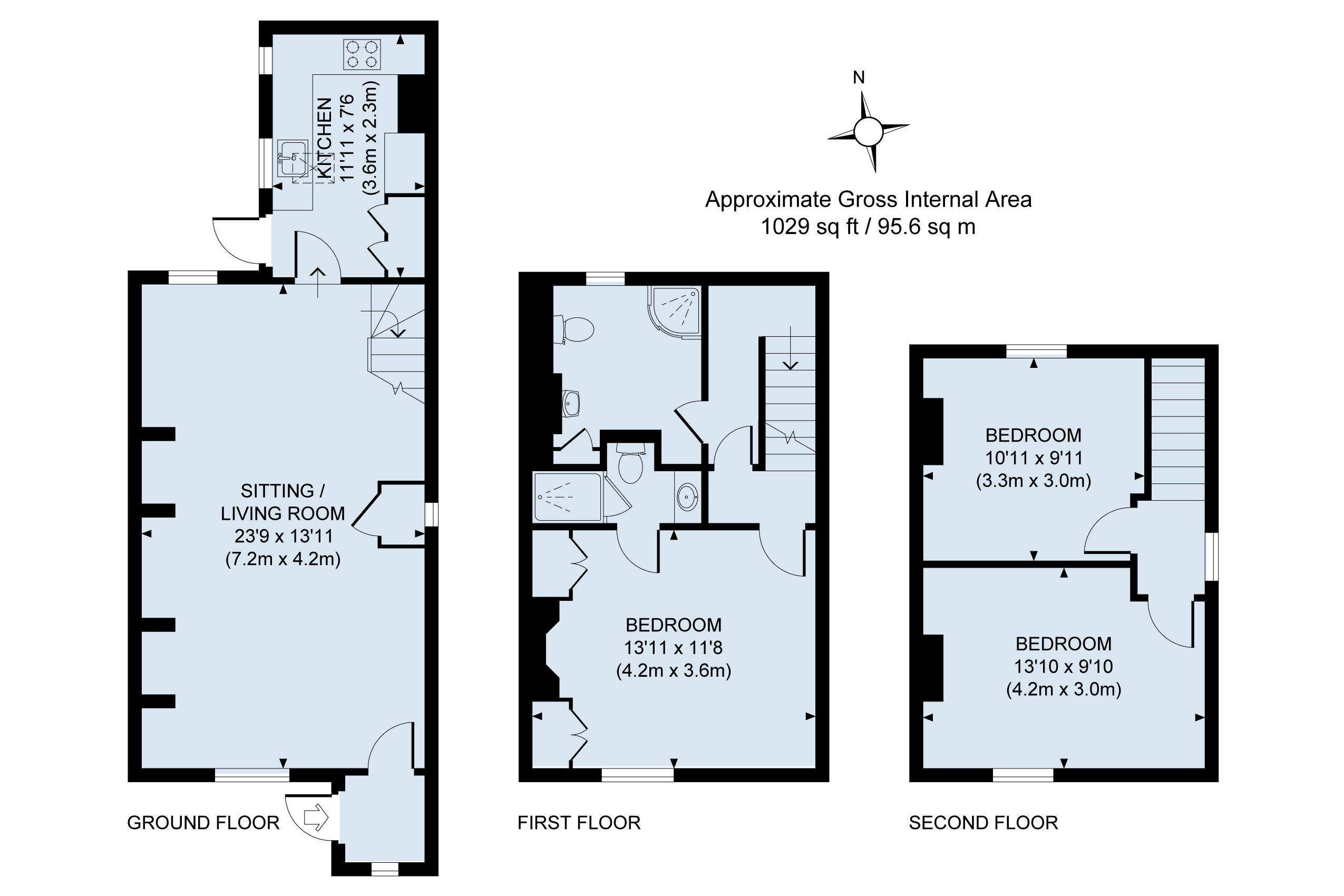 Floor plan - Eve's Cottage