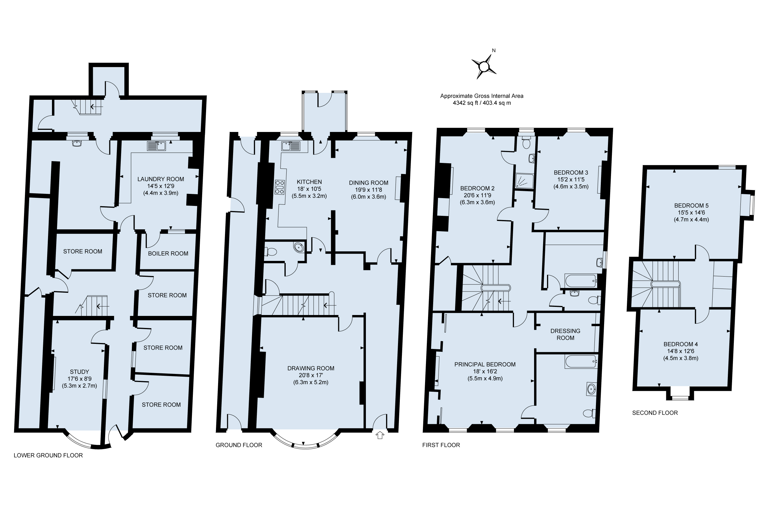 Floor plan - Regency House