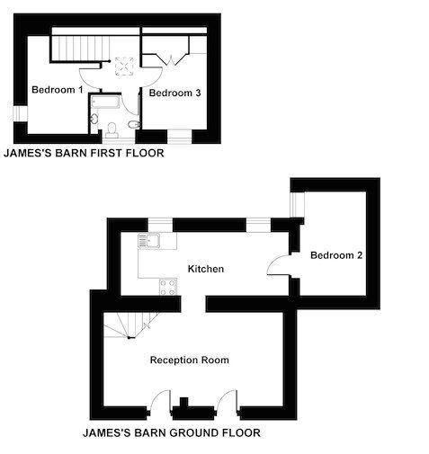 Jame's Barn floor plan