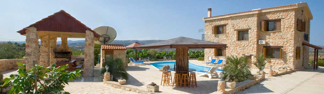 'The Retreat', Peristerona, Polis, Paphos- Secluded Villa with Private Pool